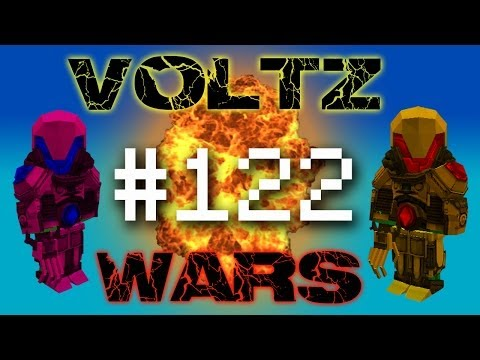 Minecraft Voltz Wars - Destroying a Porkcrux! #122