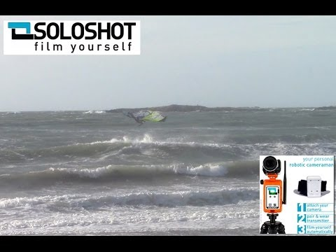 Soloshot 1st test run - Windsurfing