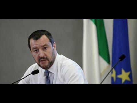 ITALIEN: Matteo Salvini bleibt bei harter Flüchtlings ...