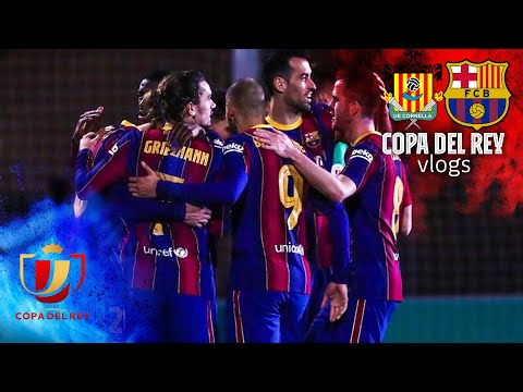 🌟⚽ THE MAGIC OF THE CUP! REACTION TO CORNELLÀ 0-2 BARÇA | COPA DEL REY VLOG