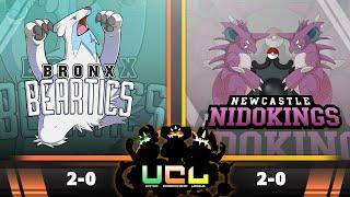 Bronx Beartics vs NC Nidokings [UCL S2W3] Pokemon Omega Ruby & Alpha Sapphire Live Wi-Fi Battle by PokeaimMD