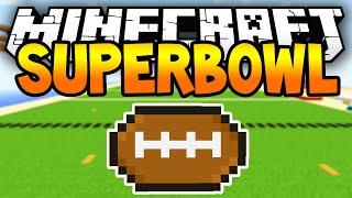 Minecraft Superbowl! - Awesome 1.8 Minecraft Team Football Match!