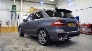 Mercedes ML63 AMG Vinyl Wrap