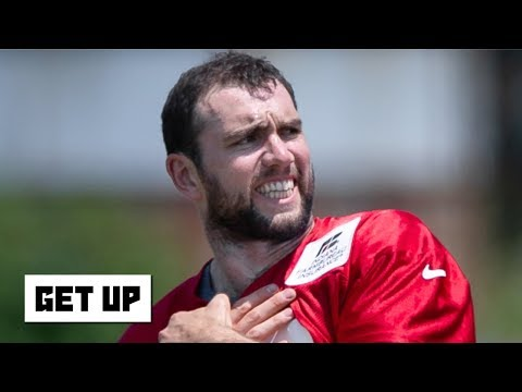 Video: Andrew Luck's calf strain at Colts training camp is concerning - Darius Butler | Get Up