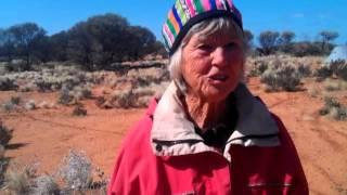 The Walkatjurra Walkers send a message to WA's Environment Minister, Bill Marmion