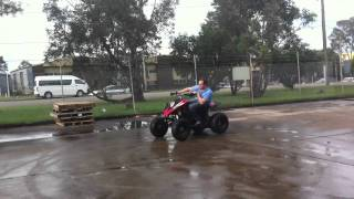 10. Crossfire Mustang Evo 2 Drifiting 250cc Water Cooled Race ATV 2