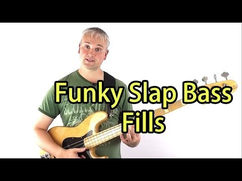 Funky Slap Bass Fills and How To Practice Them (Mark King Triplets etc.) (L#8)