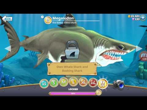 { Joc cu doi dintre cei mai buni rechini ai mei } Hungry Shark World-Episodul 38