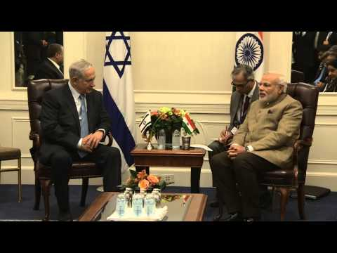 Netanyahu - Prime Minister Benjamin Netanyahu Meets with Indian Prime Minister Narendra Modi in New York. Video: GPO.