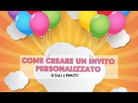 Come creare un invito personalizzato per la festa di compleanno del tuo cane - Tutorial