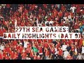 27th SEA Games: Daily Highlights (Day 9)