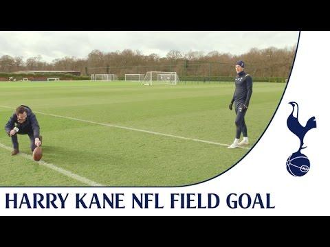 Video: NFL Superbowl Field Goal Challenge ft. Harry Kane