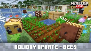 MINECON Live 2019: Bees Holiday Update