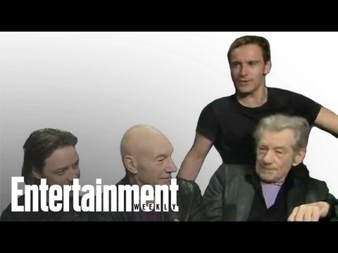 'X-Men: Days of Future Past' Cast interview - Comic-Con 2013