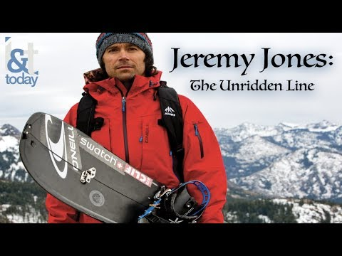 Jeremy Jones: The Unridden Line