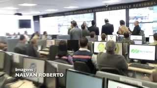 VÍDEO: Governador apresenta Centro Integrado de Comando e Controle à imprensa