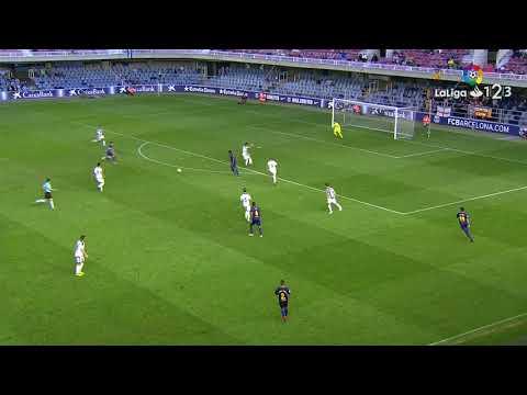 Барселона (Б) - Реал Овьедо 1:1. Видеообзор матча 08.10.2017. Видео голов и опасных моментов игры