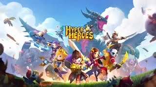 Hyper Heroes Applift Gameplay iOS / Android #HyperHeroes Applift Offical Game TrailerTAP, SWIPE & SLING your heroes to send them smashing towards hordes of monsters, unleashing explosive power on impact and looting epic treasures!FEATURES•Simple Control, Super Fun:Issue orders, take aim and cast skills, all easily controlled by a finger swipe!•Turn-based combat and tactical thinking:Plan your moves, adjust formations and build up combos to overcome your enemies!•Strategic Team-building & Hero Collection:Each hero comes with a set of unique stats & skills that greatly how your plan & fight!Try out different setups to gain the upper hand!•Multiplayer Game Modes: Fun With Friends & Prove Your StrengthPlay Co-op levels with up to 3 buddies, share the extra loot & fun!Or battle head-to-head against other players in real-time PVP duels!Hyper Heroes is free to download and play, however, some in-game items can be purchased with real money.If you don't want to use this feature, please disable in-app purchases in your device's settings.A network connection is required to play, and Wifi connection is recommended for multiplayer games.• Device Permissions:[ACCESS_FINE_LOCATION]: It is required by the Unity engine we used to create the game.[WRITE_EXTERNAL_STORAGE]: We need this permission to write and read users save files.[READ_EXTERNAL_STORAGE]: We need this permission to write and read users save files.[GET_ACCOUNTS]: It is required by Google Play Services.[READ_PHONE_STATE]: We need this to push notification messages to users.[SYSTEM_ALERT_WINDOW]: Needed for our in-game chat rooms, we need this permission to notify players of new messages.
