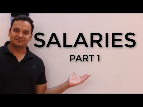 Salaries Part 1