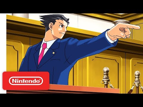 Phoenix Wright: Ace Attorney Trilogy - Launch Trailer - Nintendo Switch - Thời lượng: 101 giây.