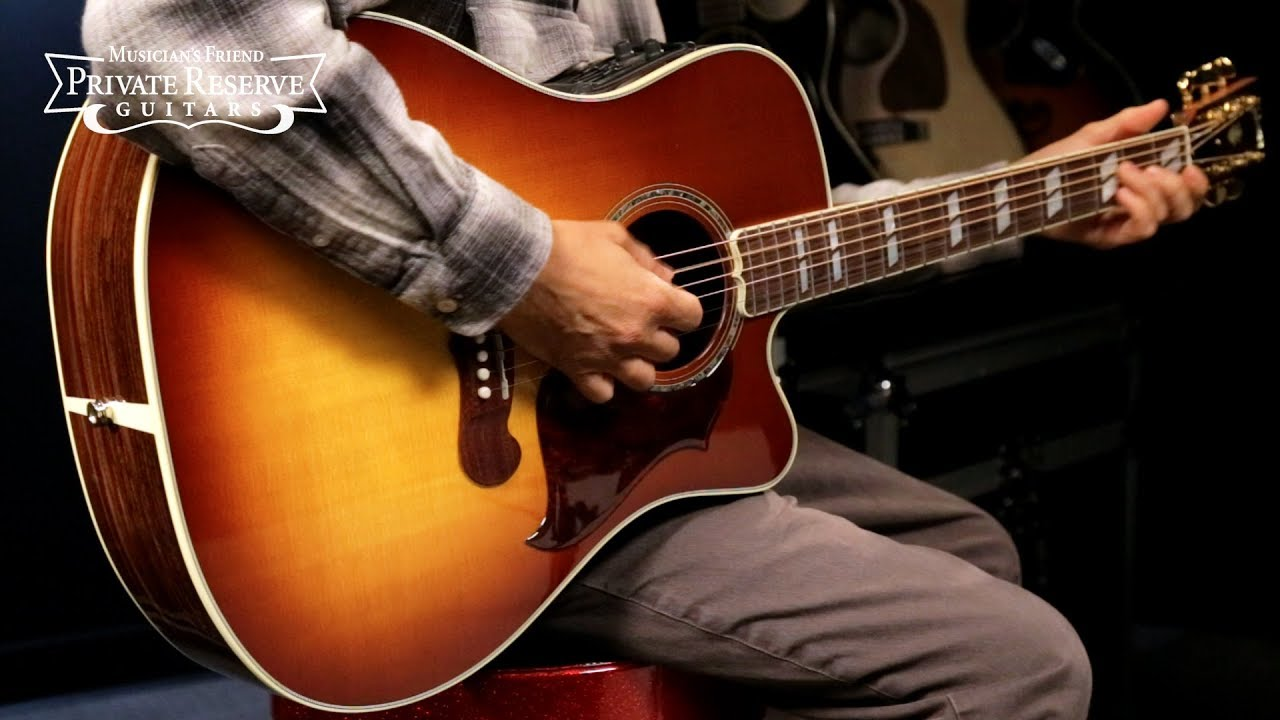 Gibson Limited Run 2019 Songwriter Cutaway Acoustic-Electric Guitar