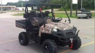 4. 2012 Polaris Ranger XP 800 EPS Browning Pursuit Camo LE