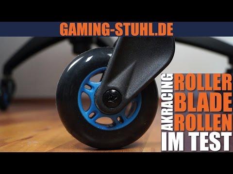 AKRacing Rollerblades Test & Vergleich mit Standardrollen