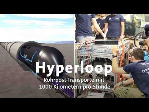 Hyperloop: Mit 1000 km/h durch Deutschland