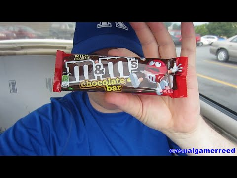 Reed Reviews M&M'S Chocolate Bar