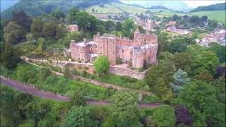 Dunster United Kingdom  City new picture : Dunster Castle, Somerset, England - Skydronauts.uk