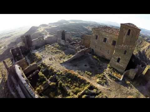 Castle of Montearagón Drone Video