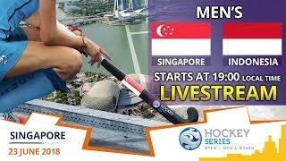 Singapore v Indonesia   2018 Men's Hockey Series Open Singapore   FULL MATCH LIVESTREAM