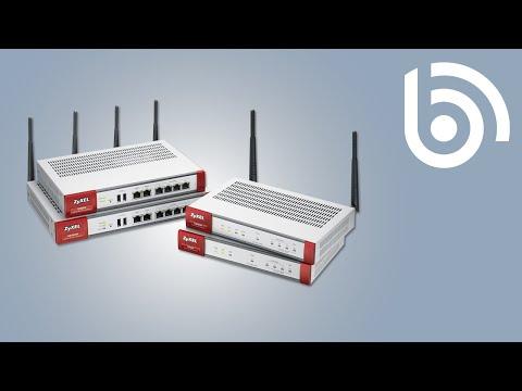 ZyXEL ZyWALL USG Firewall Overview Video