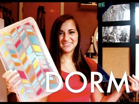 dorm - I thought this video would be a great way to kick off my back to school series! I hope you enjoyed the haul. This is pretty much everything I am bringing to ...