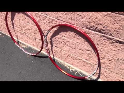 ex rims - Build Your Next Wheelset Using These Rims - http://www.rbikes.com/goto/wheels Below is a short video of what our custom anodized Stans ZTR red anodized mount...