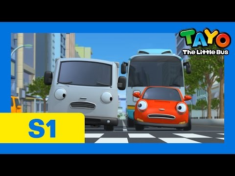 I Want New Tires (30 mins) l Episode 8 l Tayo the Little Bus