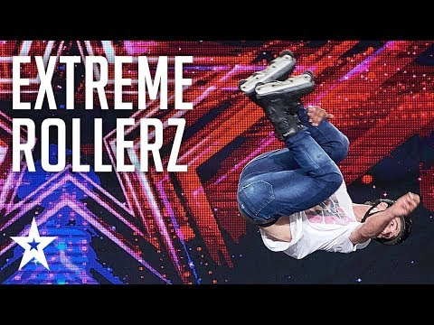 Extreme Rollerz Put Our Nerves To The Test│supertalent 2018│auditions