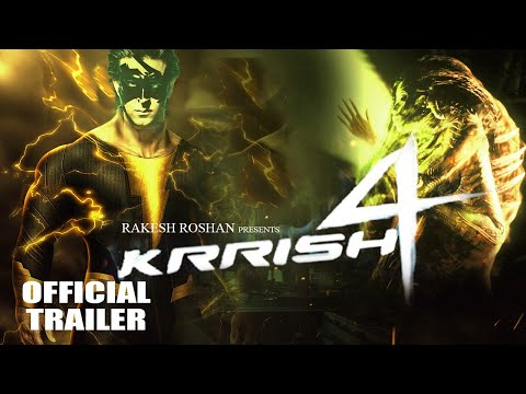 """Krrish 4 Trailer""Official 