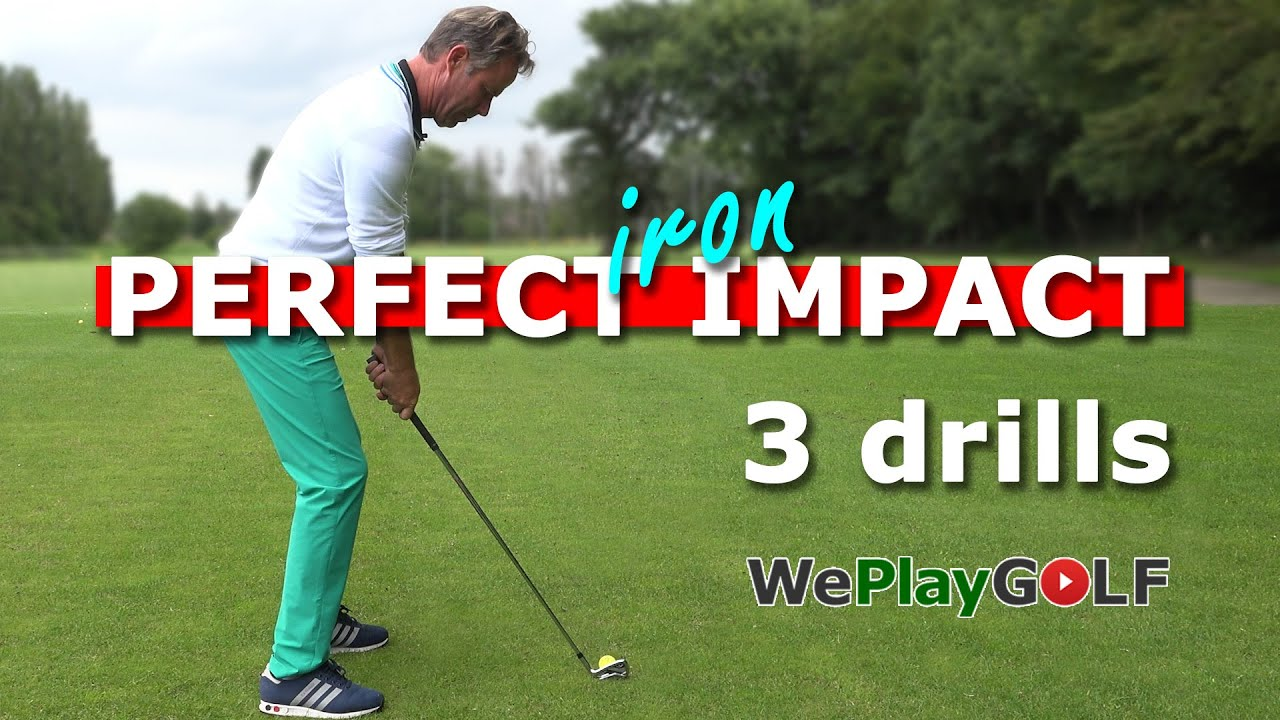 Perfect IMPACT with your IRONS - 3 simple golf drills