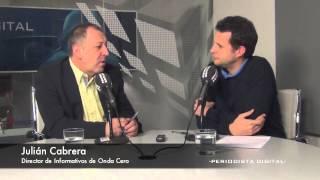 """Julián Cabrera: """"La crisis afecta a la figura del corresponsal por los obligados recortes"""""""