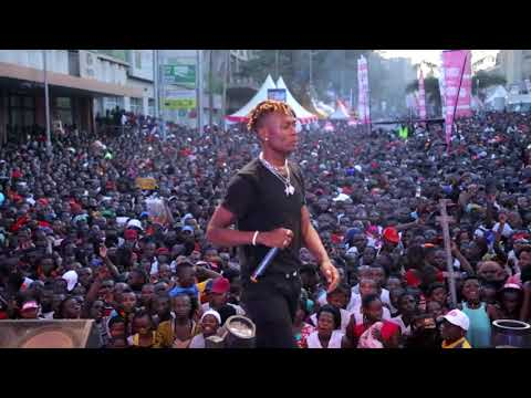 Fik Fameica Performing Live at Kampala City Carnival Festival PART 2