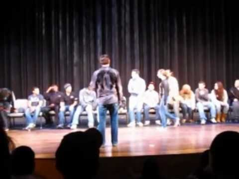 SUNY Rockland Stage Hypnotist Michael C. Anthony Part 3.mpg