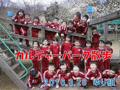 八幡保育園(福井市)カルチャーパークまでゆり組(4歳児)お散歩。鬼ごっこに滑り台に楽しいひと時を過ごしました。