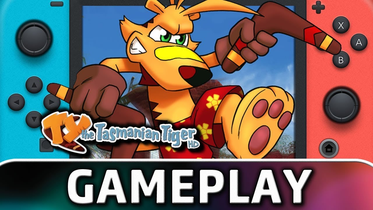 TY the Tasmanian Tiger HD   First 20 Minutes on Nintendo Switch
