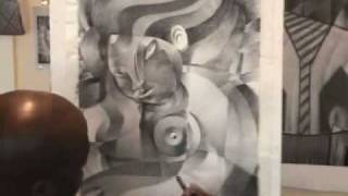 """Passion"" .Charcoal artwork in time lapse"