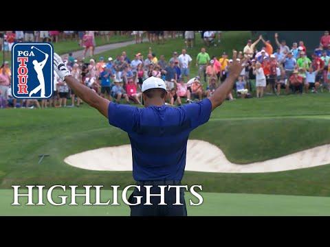 Tiger Woods' highlights   Roun …