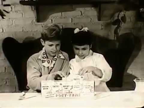 VINTAGE 1950s POST TENS COMMERCIAL WITH THE WORLD'S WORST CHILD ACTORS