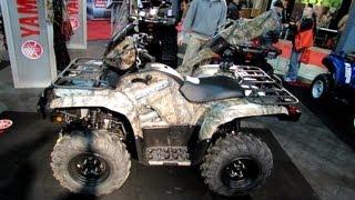 10. 2013 Yamaha Grizzly 700 Multi Purpose ATV - 2012 Salon National du Quad - Off Road Vehicles Show
