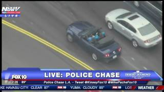 Video WATCH: The Most Bizarre Police Chase You Will Ever See (FNN) MP3, 3GP, MP4, WEBM, AVI, FLV Januari 2019
