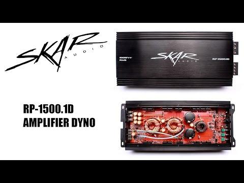 Skar Audio RP-1500.1D Dyno Runs on SMD AD-1 Amp Dyno!!